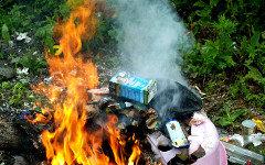Сжигание мусора. Фото с сайта gov.cap.ru