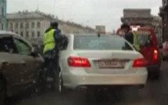 Стоп-кадр с видео инцидента в YouTube