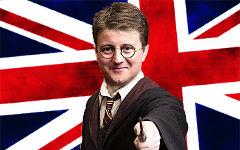 Дэвид Кэмерон в образе Гарри Поттера. Коллаж © KM.RU
