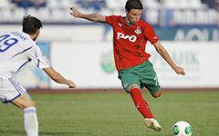 Момент матча в Нижнем Новгороде. Фото с сайта fclm.ru