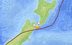 Эпицентр второго землетрясения. Изображение с сайта earthquake.usgs.gov
