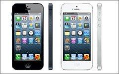 Смартфон iPhone 5. Фото с сайта apple.com