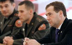 Дмитрий Медведев (справа). Фото с сайта kremlin.ru