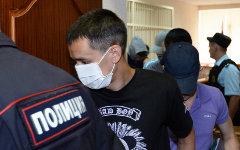 Суд над экс-сотрудниками ОП «Дальний» © РИА Новости, Максим Богодвид