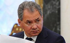 Сергей Шойгу. Фото с сайта kremlin.ru