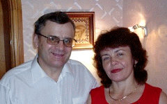 Петр и Ольга Ткалич. Фото с сайта tkalitsch.narod.ru