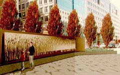 «Пшеничное поле» Ларисы Курилас. Изображение с сайта novaya.com.ua