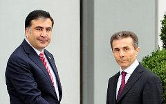 М. Саакашвили и Б.Иванишвили. Фото с сайта president.gov.ge