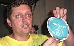 «Эсер» О.Пахолков во время обыска в штабе Навального © KM.RU, Алексей Белкин