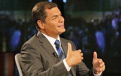 Рафаэль Корреа. Фото с сайта presidencia.gob.ec