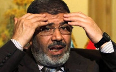 Мухаммед Мурси. Стоп-кадр с видео в YouTube