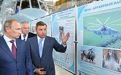 Владимир Путин на презентации вертолета © РИА Новости, Алексей Никольский
