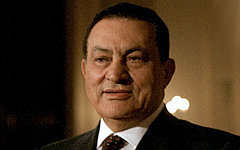 Хосни Мубарак. Фото с сайта georgewbush-whitehouse.archives.gov