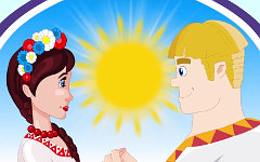 Кадр мультфильма «Сказка о выборе»