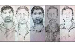 Фотороботы подозреваемых в изнасиловании