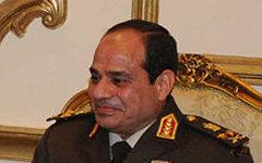 Абдул Фаттах аль-Сиси. Фото с сайта wikipedia.org