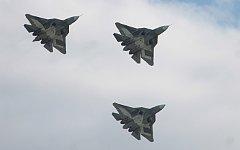 Истребители Т-50 © KM.RU, Алексей Белкин