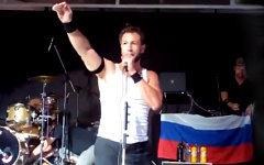 Выступление Bloodhound Gang на Украине. Стоп-кадр с видео в YouTube