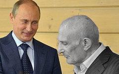 Владимир Путин и Анатолий Рахлин. Фото с сайта kremlin.ru