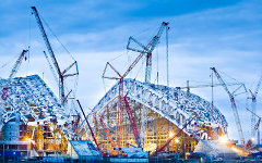 Олимпийская стройка в Сочи. Фото с сайта sc-os.ru