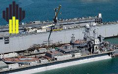 Ремонт военного корабля. Фото с сайта mil.ru