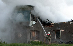 Пожар в Маловишерском районе. Фото с сайта 53.mchs.gov.ru