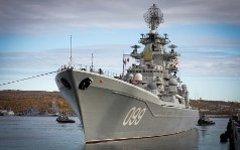 Крейсер «Петр Великий». Фото с сайта минобороны.рф