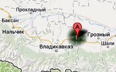 Место происшествия на карте. Изображение сервиса Google Maps