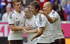 Игроки «Баварии». Фото с сайта bavaria-munchen.ru