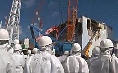 АЭС «Фукусима-1». Стоп-кадр с видео в YouTube