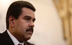 Николас Мадуро. Фото с сайта nicolasmaduro.org.ve