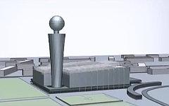 Проект стадиона ЦСКА. Стоп-кадр с видео в YouTube