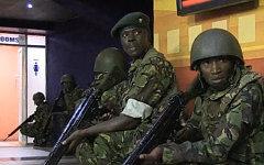Бойцы спецназа Кении. Кадр канала Russia Today