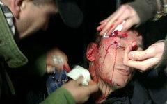 Юрий Луценко на месте происшествия. Фото пользователя Facebook Андрея Ковалова