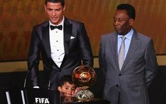Криштиану Роналду и Пеле. Фото с сайта fifa.com