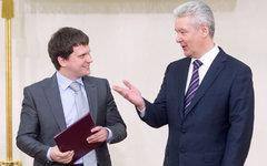 Сергей Собянин (справа). Фото с сайта mos.ru
