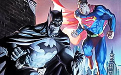Бэтмен и Супермен. Иллюстрация Marvel Comics