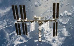 Международная космическая станция. Фото с сайта wikimedia.org