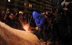 Снос памятника Ленину в Киеве © KM.RU, Алексей Белкин