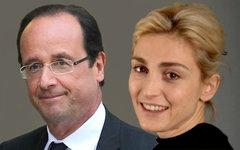 Франсуа Олланд и Жюли Гайе. Коллаж © KM.RU