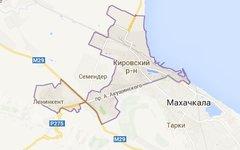 Кировский район Махачкалы. Изображение сервиса Google Maps