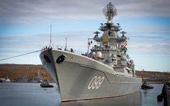 Крейсер «Петр Великий». Фото с сайта mil.ru