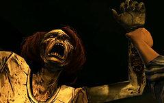 Кадр из видеоигры The Walking Dead