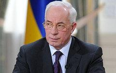 Николай Азаров. Фото с сайта azarov.ua