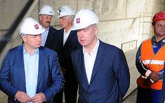 Сергей Собянин (в центре). Фото с сайта mos.ru