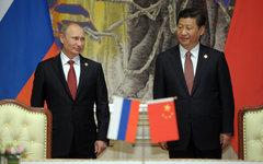 Владимир Путин и Си Цзиньпин © РИА Новости, Алексей Дружинин