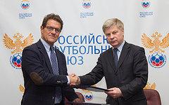 Фабио Капелло и Николай Толстых. Фото с сайта rfs.ru