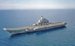 Тяжёлый авианесущий крейсер «Адмирал Кузнецов». Фото с сайта wikipedia.org