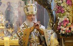 Патриарх Кирилл. Фото с личной страницы в Facebook