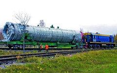Вывоз РН «Рокот». Фото с сайта khrunichev.ru